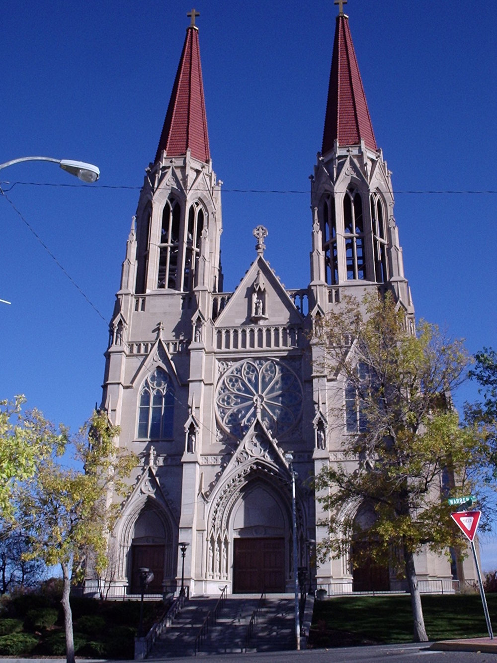 The Saint Helena Cathedral, built in 1908. is an impressive sight as it overlooks the downtown. It is a beautiful and sacred place to explore.