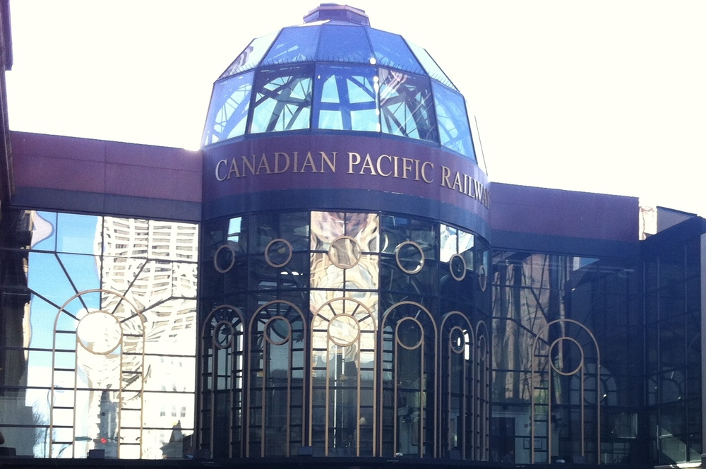 While regular passenger train service not longer exists in Calgary, Downtown's 9th Avenue is home to the Canadian Pacific Railway Pavilion, which houses the vintage early 20th century passenger cars.