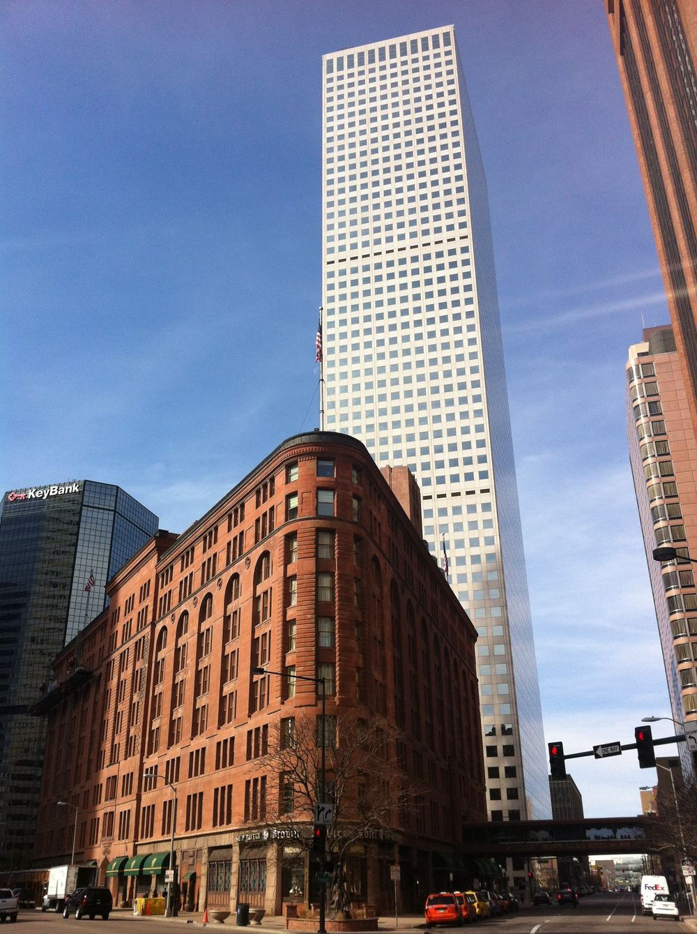 Denver has a healthy mix of old and new architecture.