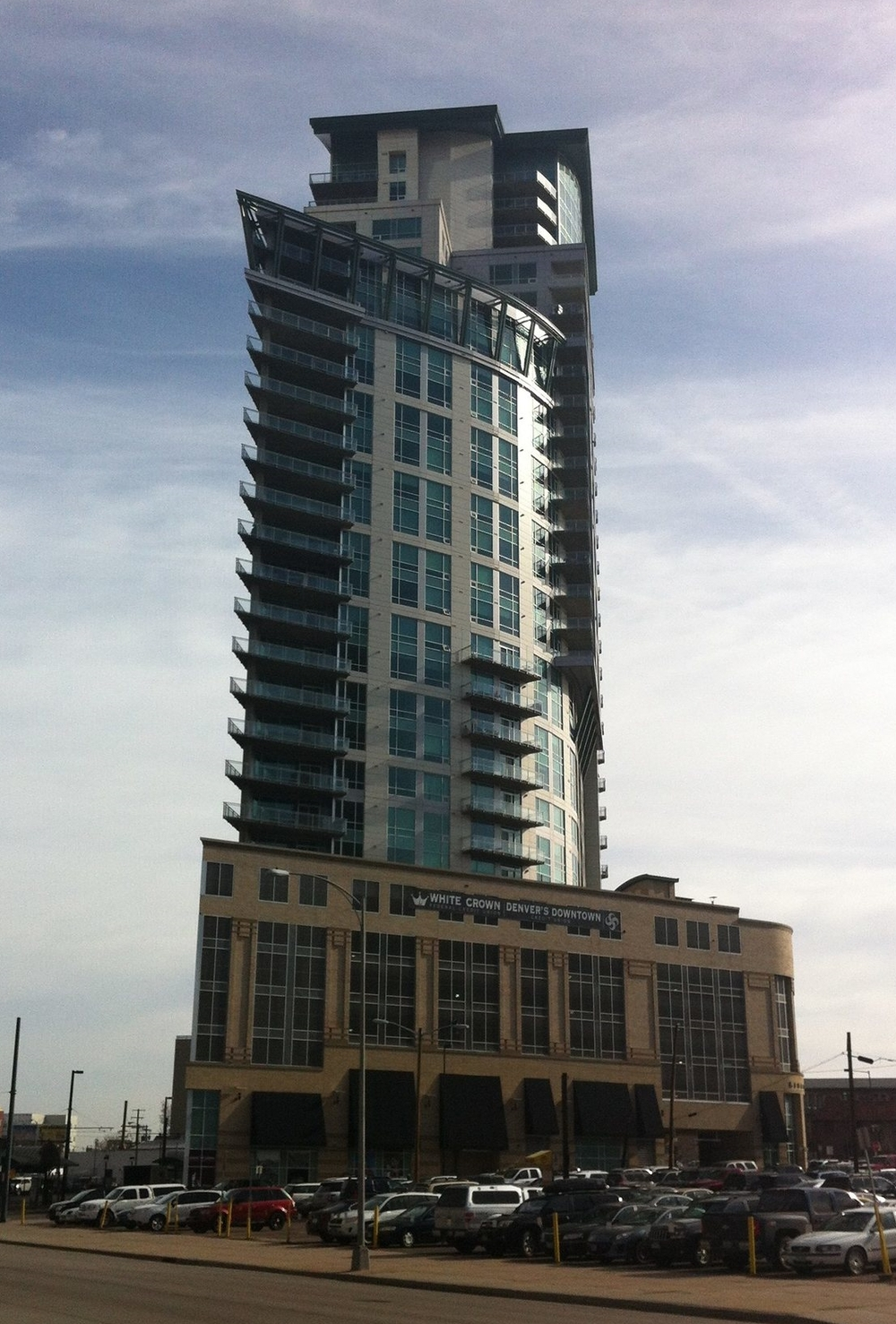 One of Denver's highrise condos.