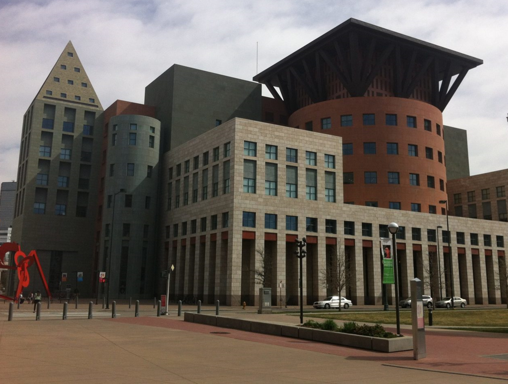 Denver was one of the first North American cities to connect signature architecture and downtown library.  Calgary is a late adopter in the iconic contemporary architecture competition.