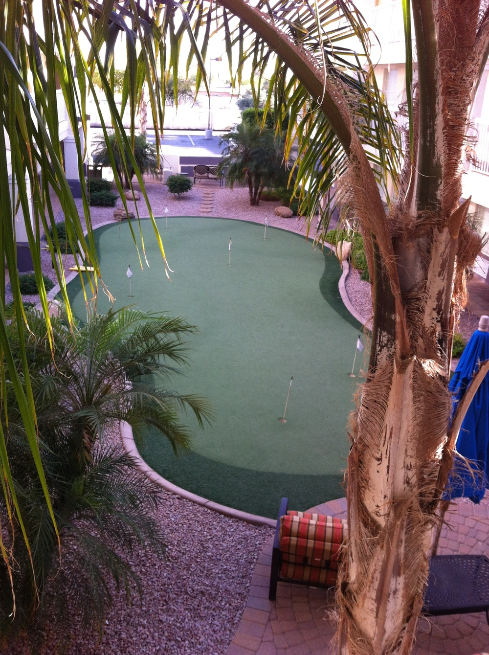 Your own private putting green....12+ on the stimpmeter.