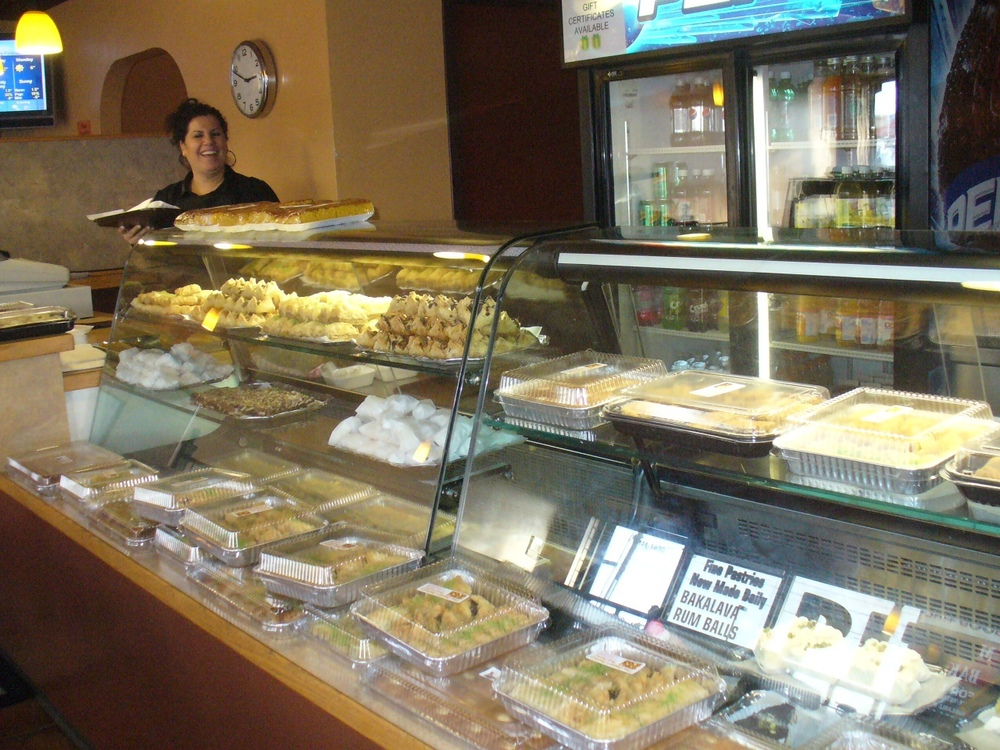 Desert on 52nd is just one of the many mouth-watering bakeries along the Avenue. They even have diabetic baklava.