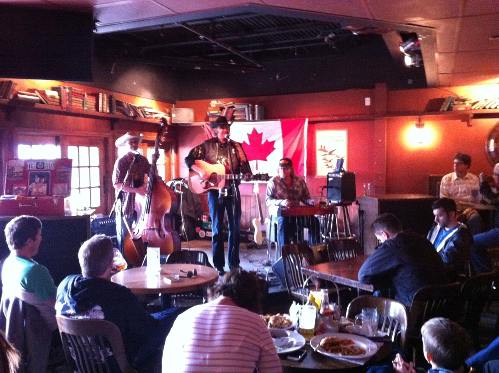 Inside the Ship & Anchor is one of Calgary's most popular live music venues.