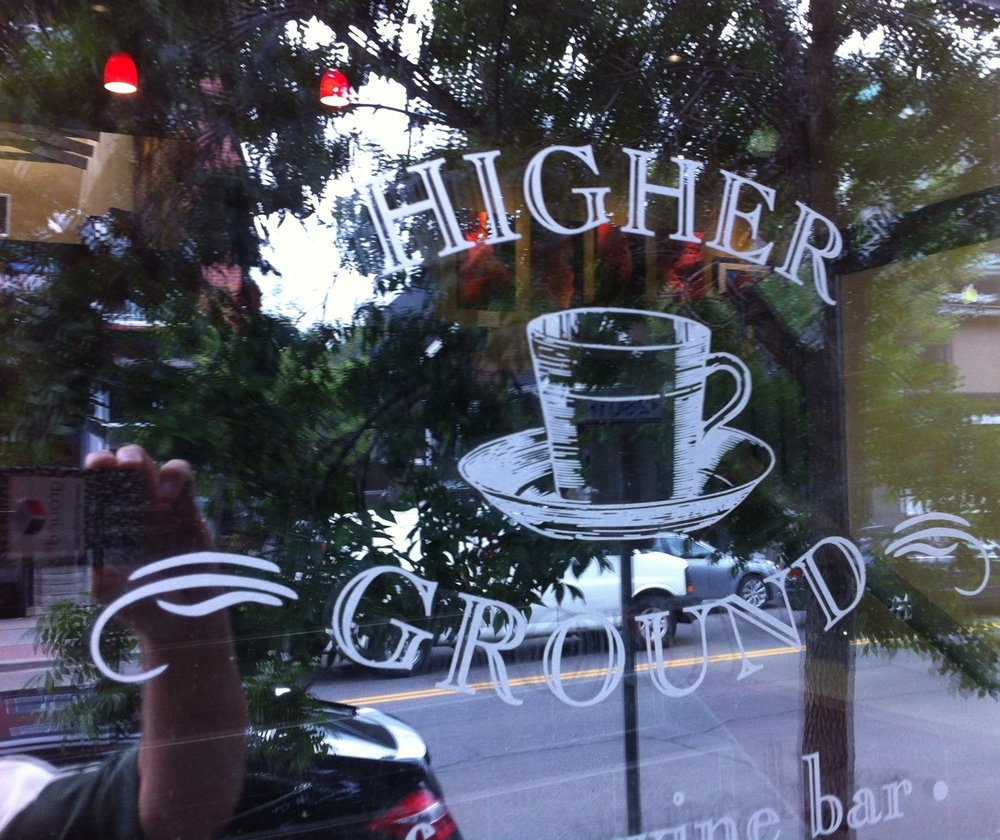 Higher Ground is just one of the many cafes in Kensington.