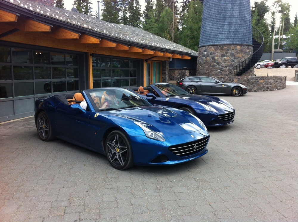 When I arrived they had two blue Cali Ts waiting for a test drive. Where was the red one?