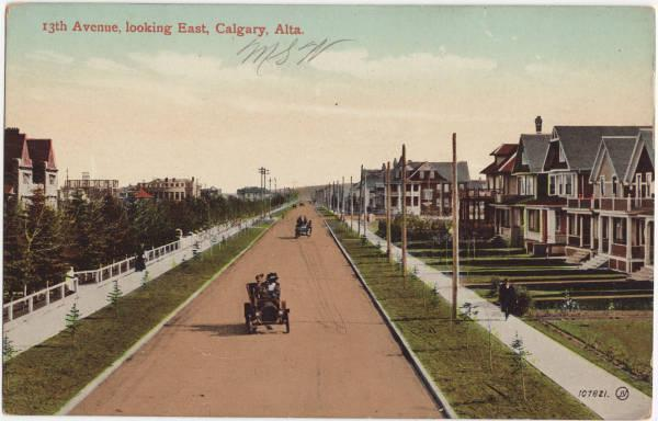 The Beltline before the trees and highrises, looks a lot like the new suburbs of the late 20th century.