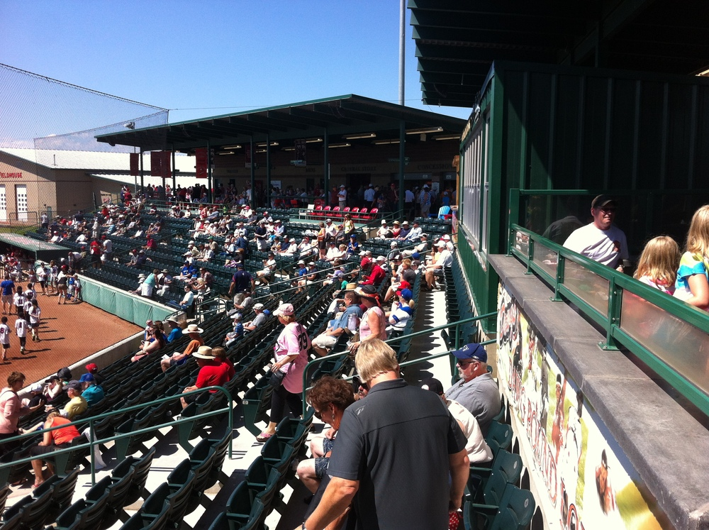 Seaman Stadium seating capacity is 1600.