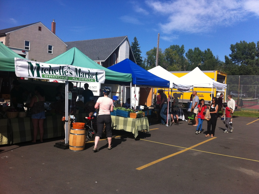 The Hillhurst Farmers' Market is a small but charming community market.