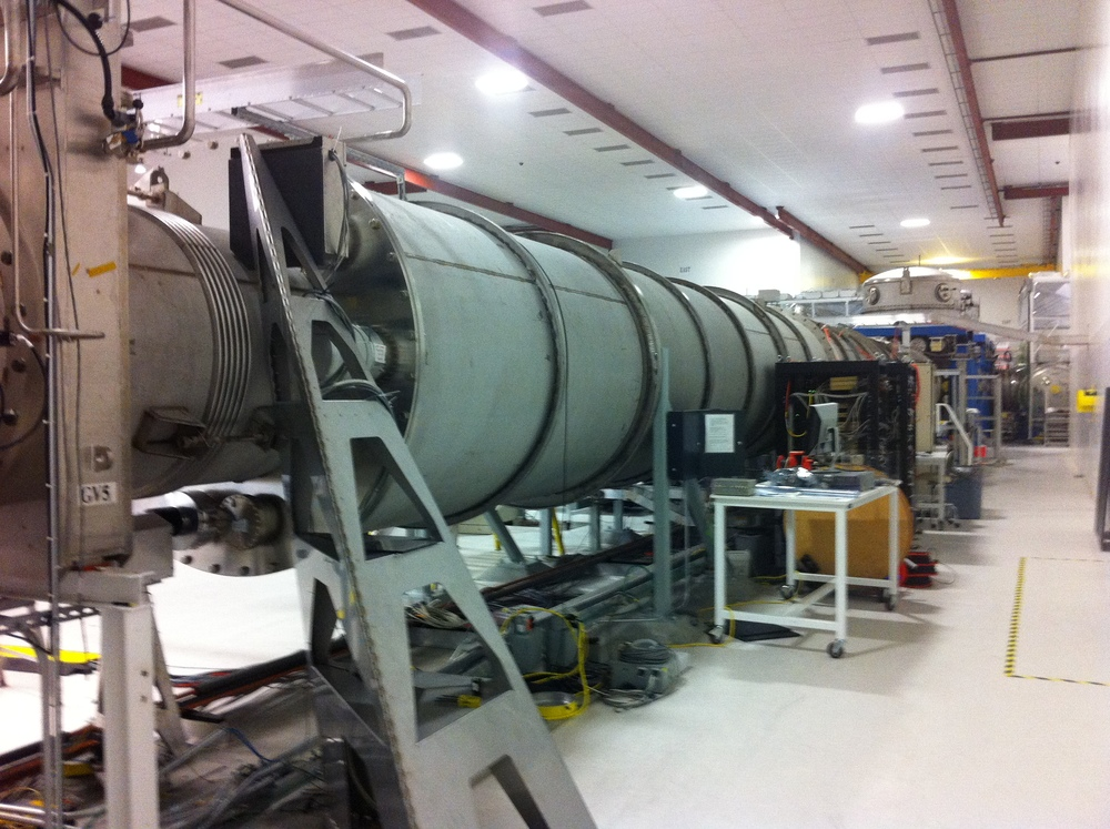 Inside the LiGO laboratory.