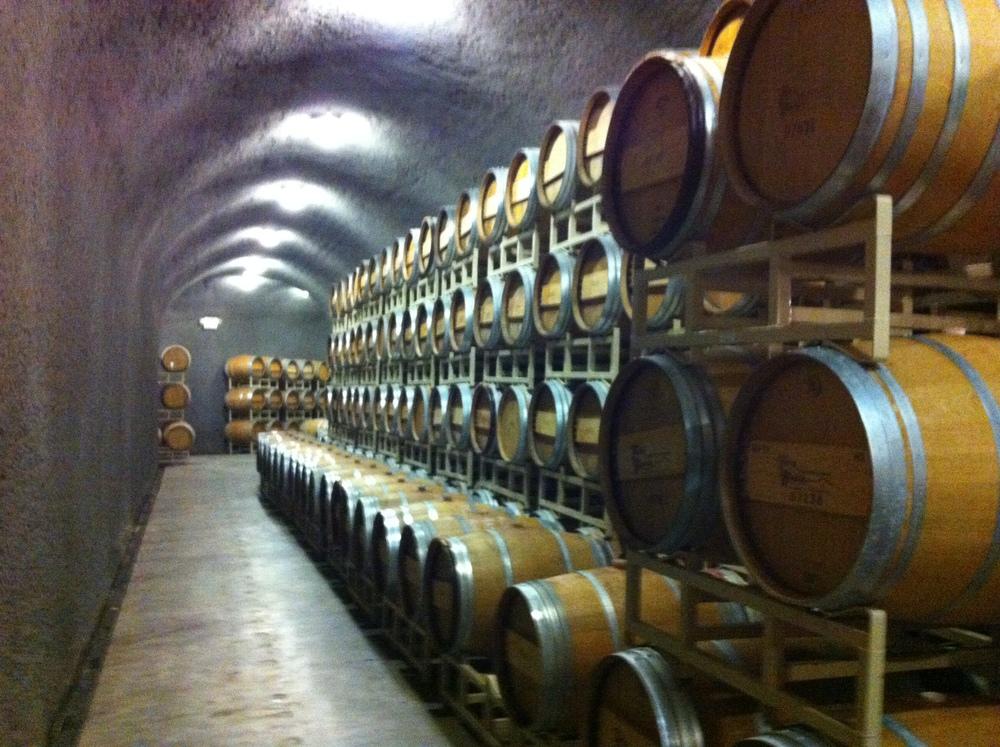 Terra Blanca's underground storage.