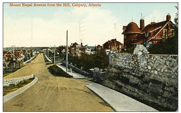Mount Royal early 20th century.