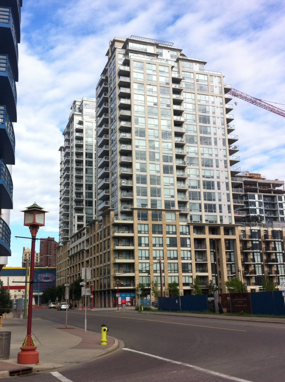 The Waterfront condo project is the largest condo project in Calgary's history.