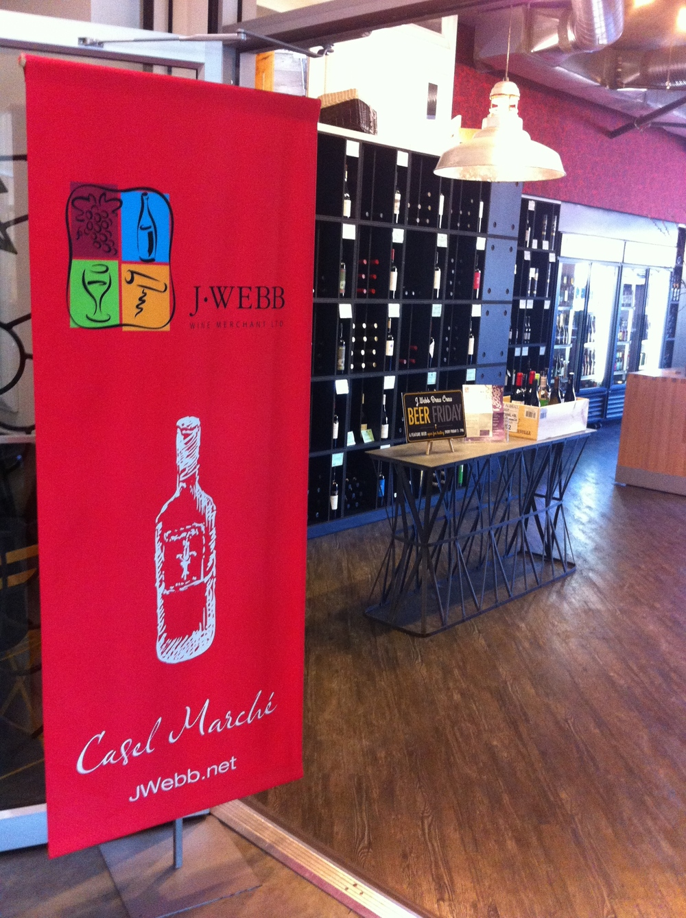 J.Webb Wine Merchant is Calgary's oldest and one of its most respected independent wine merchants.