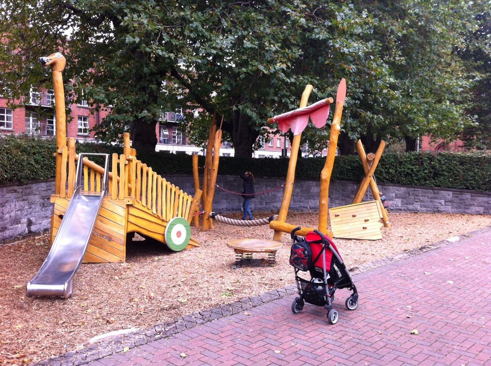 Every park needs a playground.