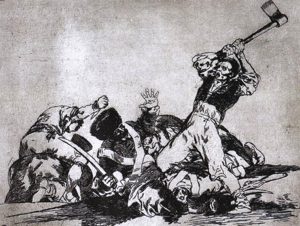 Goya, Los Desastier de la Guerra (photo credit: www.wga.hu)