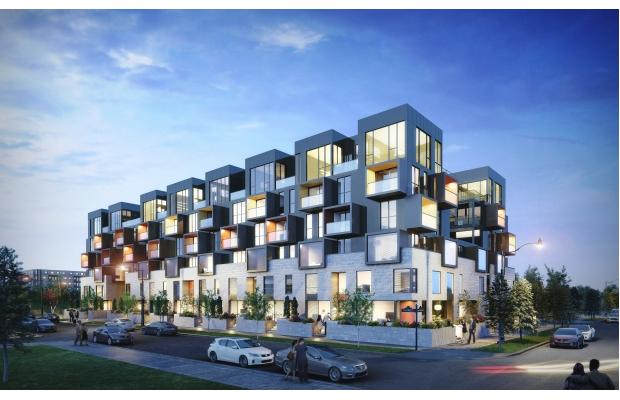 The Steps is just one of many modest condo projects approved, under construction or recently completed in Bridgeland.
