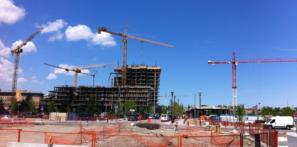 East Village is a mega construction site today - a magnificent multi-generational village soon!