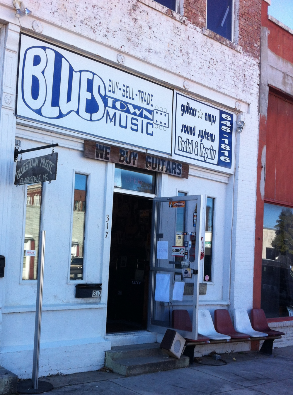 df66494e91ee6 Clarksdale has numerous music related stores that are fun to explore.   nbsp It is