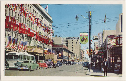 Stephen Avenue middle of the 20th Century.