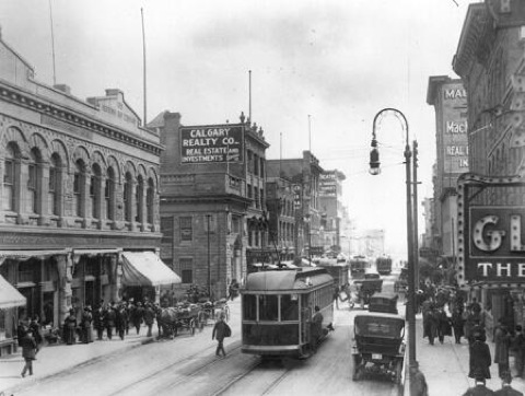 Stephen Avenue early 20th century.