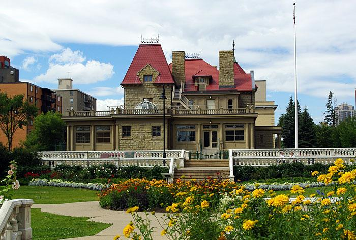 Lougheed House and gardens