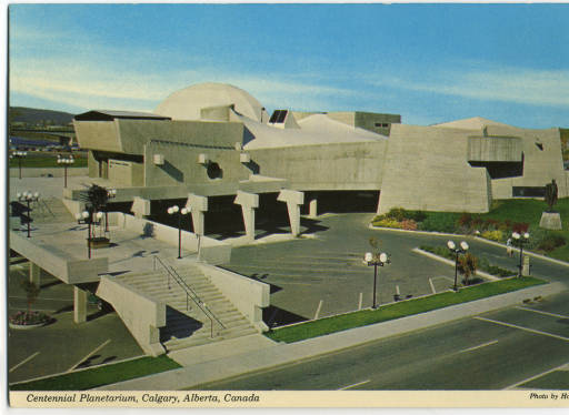 Calgary architect Jack Long's modernist Science Centre predates Frank Gehry's famous modernist Guggenheim Museum in Bilboa Spain by 30 years.