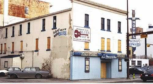 Even the once proud King Eddy Hotel was no longer the Home of the Blues by the 21st century.