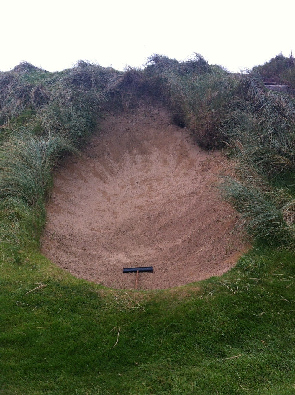 The ugliest bunker I have ever seen.