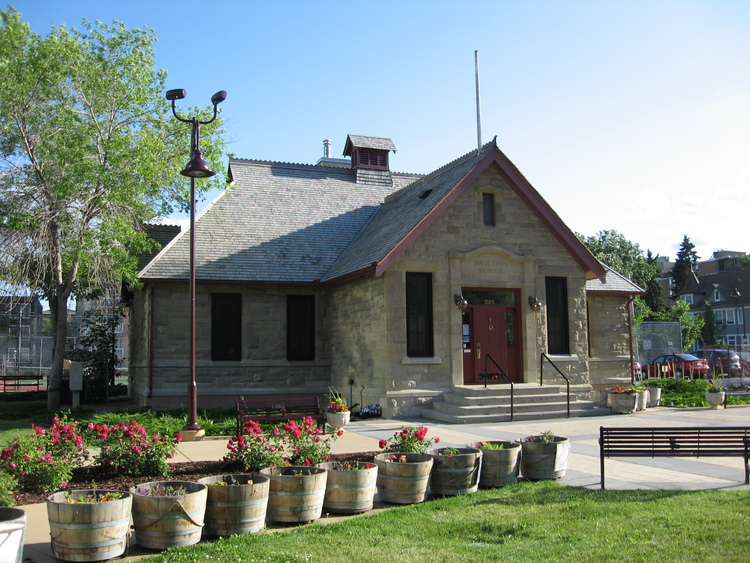 The historic Haultain School, home to the Parks Foundation Calgary, is appropriately located in Haultain Park and across the street from Memorial Park.