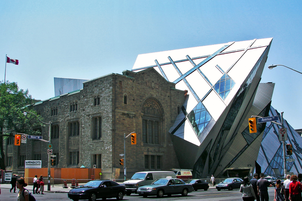 Libeskind's addition to the historic Royal Ontario Museum, Toronto, Canada