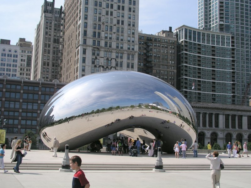 Chicago's Millennium Park has become a mega tourist attraction mainly because of two fun interactive public artworks.