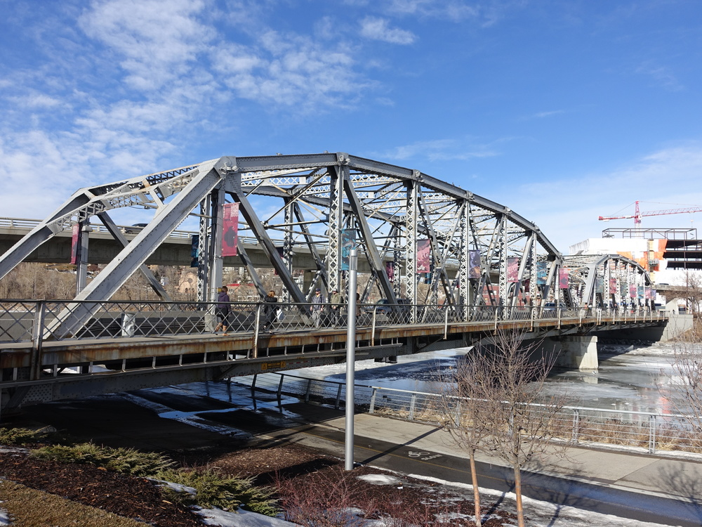 Langevin Bridge by day.