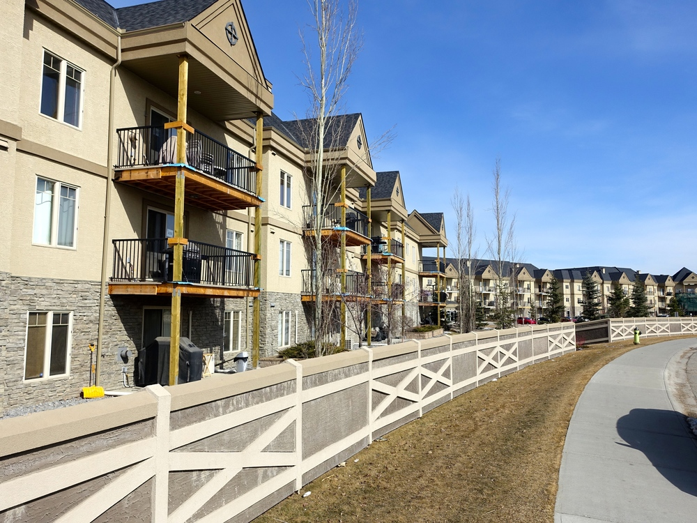 Some new suburban communities have almost as many condos as they do single-family homes.