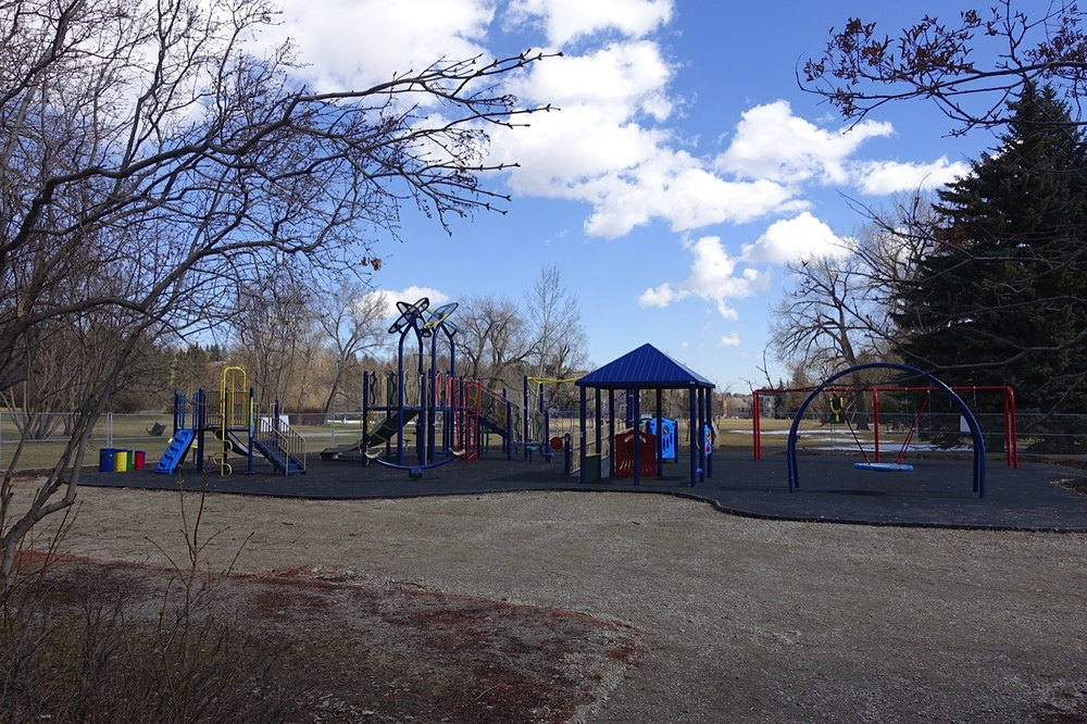 The new Riley Park playground.