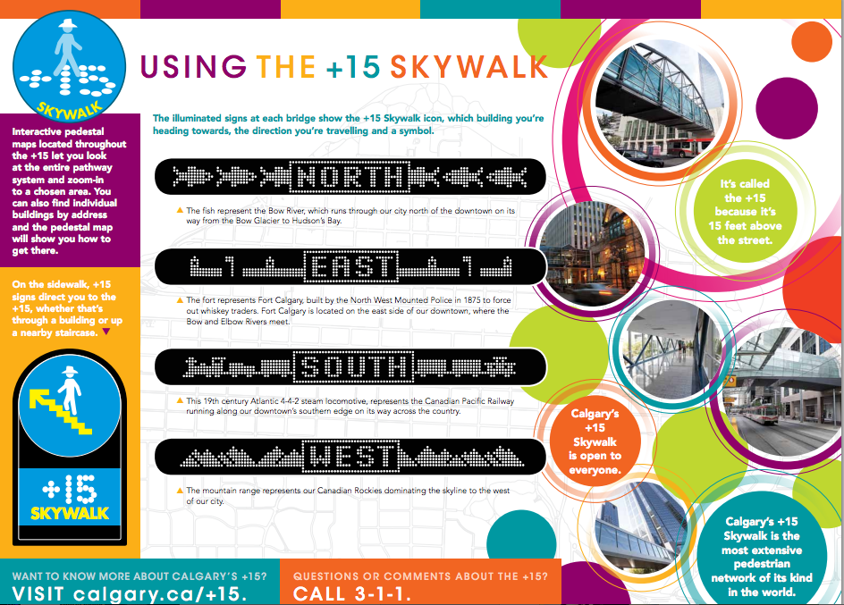 Photo credit: City of Calgary, +15 online brochure