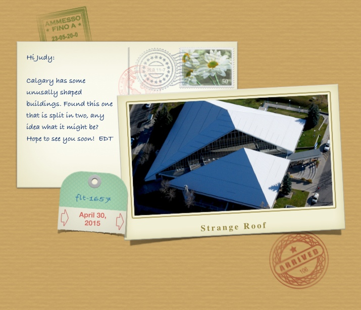 Postcard Fish Creek Library