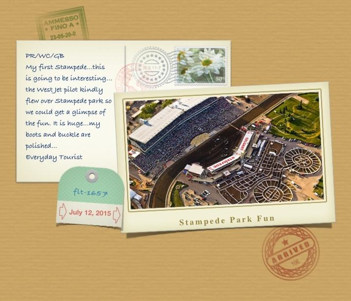 Postcard Stampede