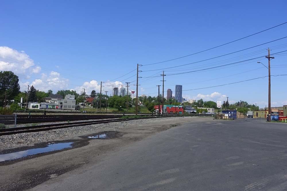 This is the proposed site of the new BRT/ LRT station for Inglewood and Ramsay just two blocks from the Brewery District.  It will also link up with the 17th Avenue SE BRT route to create a major transit hub. The stars are beginning to align for two of Calgary's oldest communities.