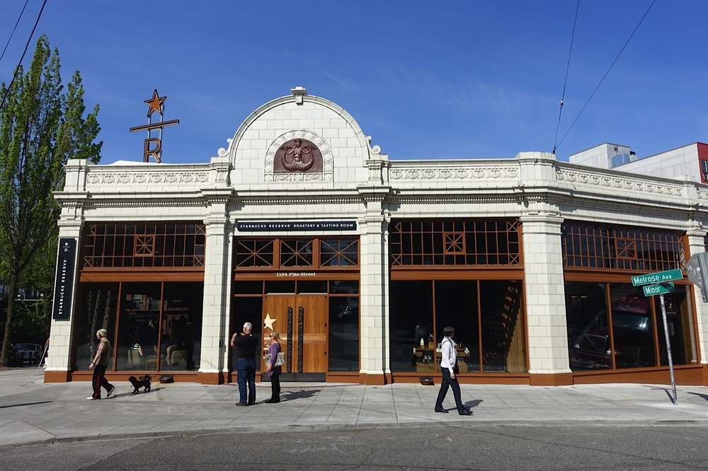 Starbucks Reserve Roastery & Tasting Room in Seattle.