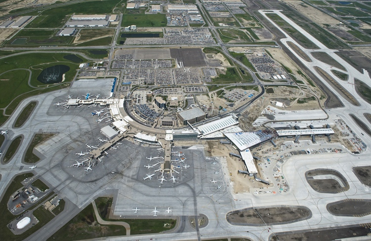 Calgary International Airport (photo credit: Peak Aerials)