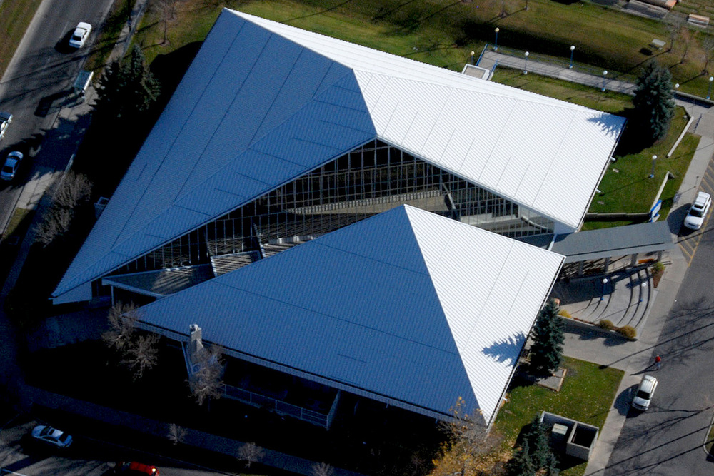 Fish Creek Library (Peak Aerials)