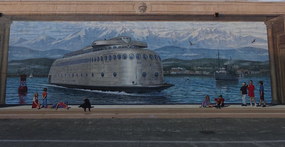 Port Angeles mural
