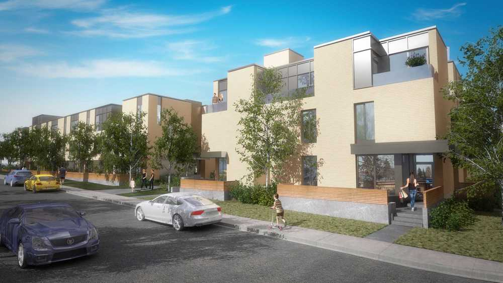 Altadore 36 will create an attractive pedestrian street experience. (photo credit: Brookfield Residential)