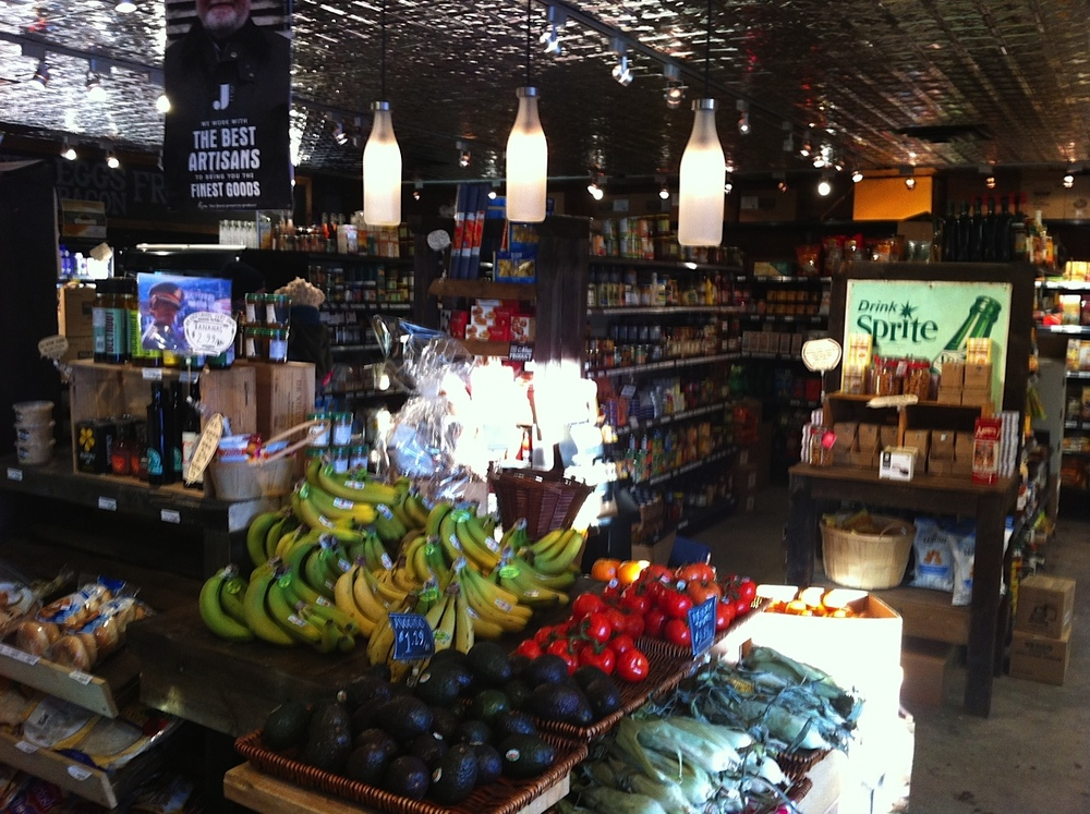 Bridgeland Market's provides great local grocery shopping.