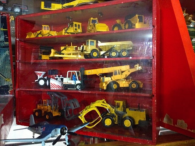 What would a toy museum be without truck and planes.