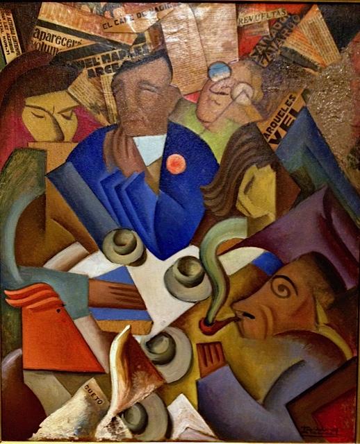 Ramon Alva de la Canal, The Cafe de Nadie, 1930
