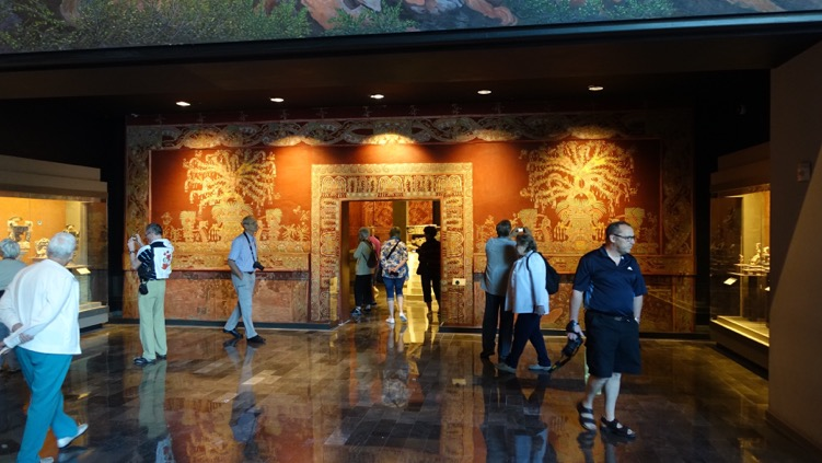 The gallery spaces are spacious but not overwhelming, making for a enjoyable experience.