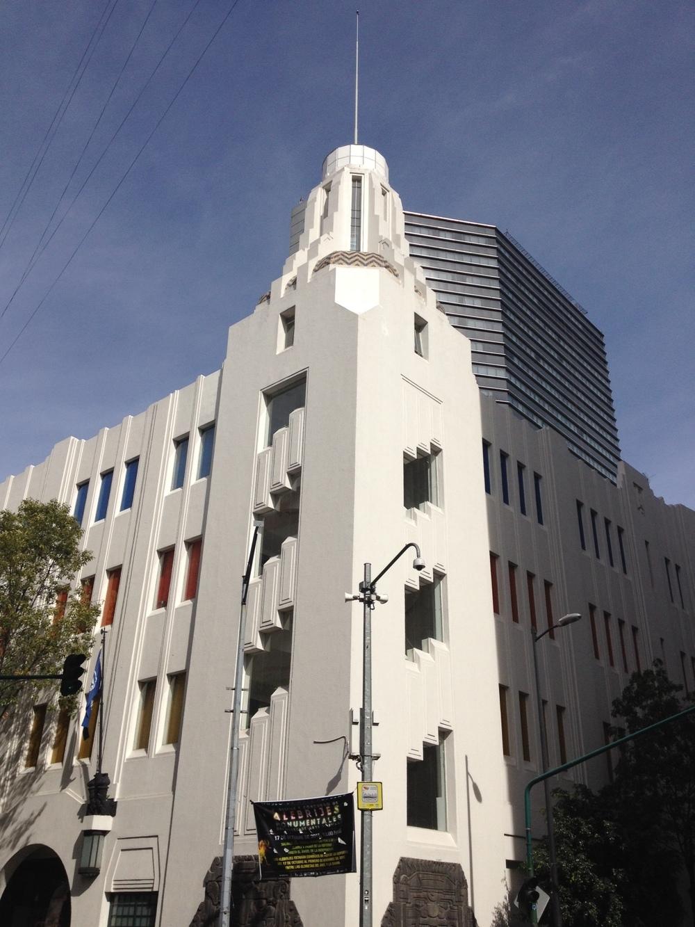 The classic art deco building was originally the Fire Department Headquarters.