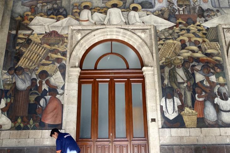Murals in situ 2